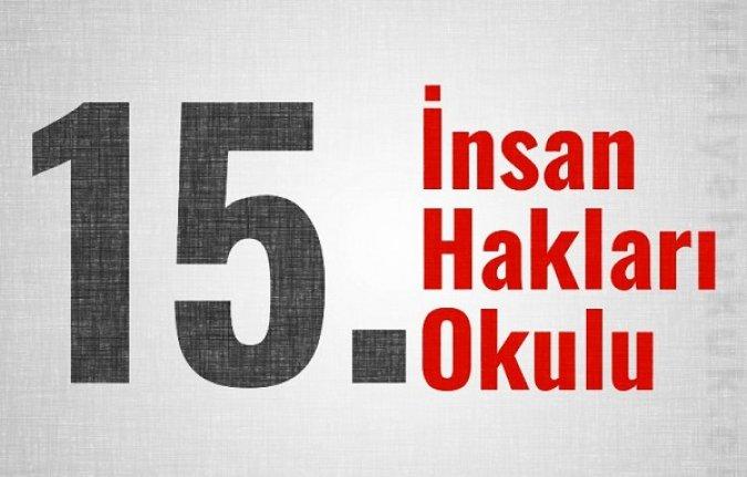 15. İnsan Hakları Okulu