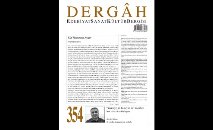 Dergâh dergisinin yeni sayısı çıktı