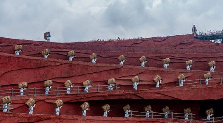 Himalaya eteklerindeki antik kasaba Liciang