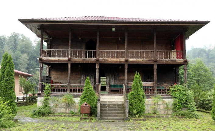 Rize'nin asırlık çivisiz camileri