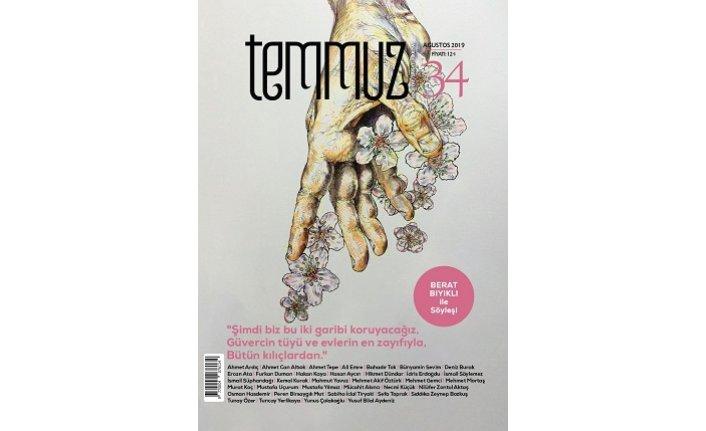 Temmuz dergisinin 34. sayısı çıktı