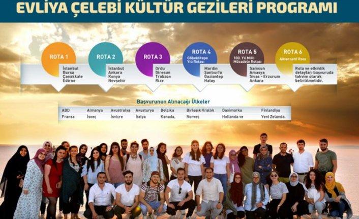 YTB'nin 'Evliya Çelebi Kültür Gezileri' gençleri ana vatanlarıyla buluşturuyor