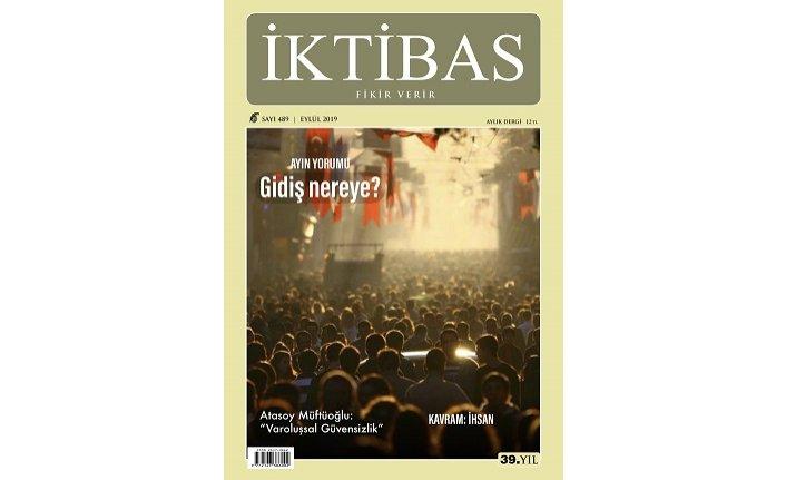 İktibas dergisinin Eylül sayısı çıktı
