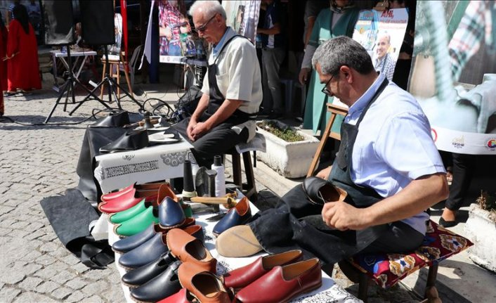 Kaybolmaya yüz tutan meslekler Safranbolu'da canlandırıldı