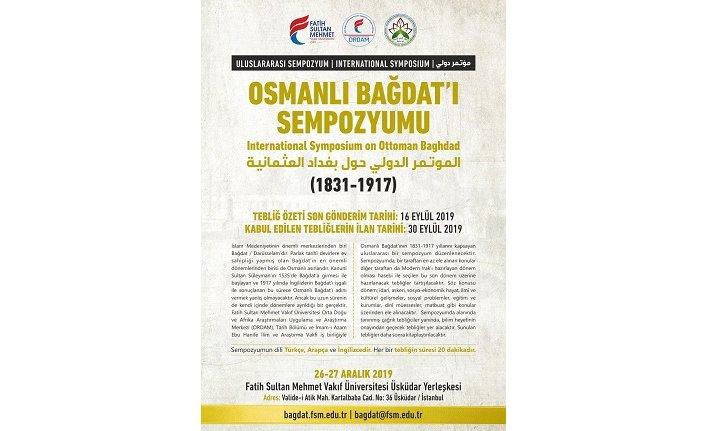 Uluslararası Osmanlı Bağdat'ı Sempozyumu