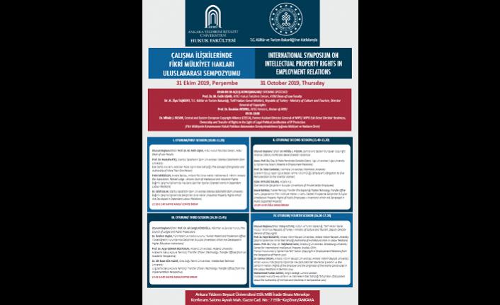 Çalışma İlişkilerinde Fikri Mülkiyet Hakları Uluslararası Sempozyumu