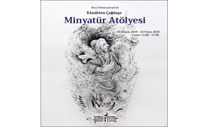 """""""Reza Hemmatirad ile Minyatür Atölyesi"""""""