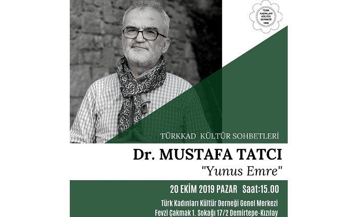 TÜRKKAD sohbetlerinin yeni dönemdeki ilk misafiri Mustafa Tatcı olacak