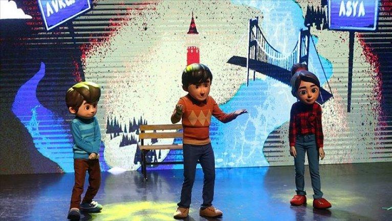 Adana'da 'Rafadan Tayfa Müzikali'ne yoğun ilgi