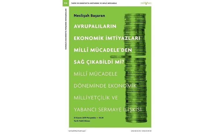 """""""Avrupalıların Ekonomik İmtiyazları Milli Mücadele'den Sağ Çıkabildi Mi?"""""""