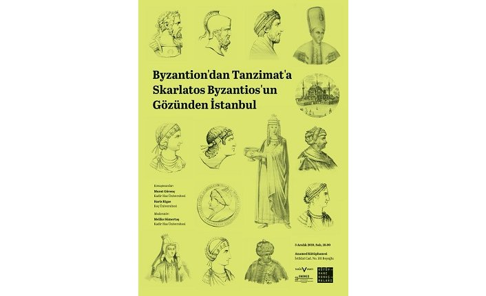 """Byzantion'dan Tanzimat'a Skarlatos Byzantios'un Gözünden İstanbul"""