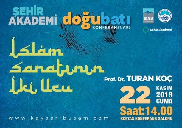 """İslam Sanatının İki Ucu"""