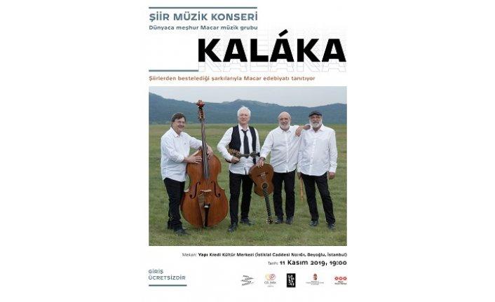 Kaláka, 11 Kasım'da Yapı Kredi Kültür Merkezi'nde Türk izleyicileriyle buluşacak!