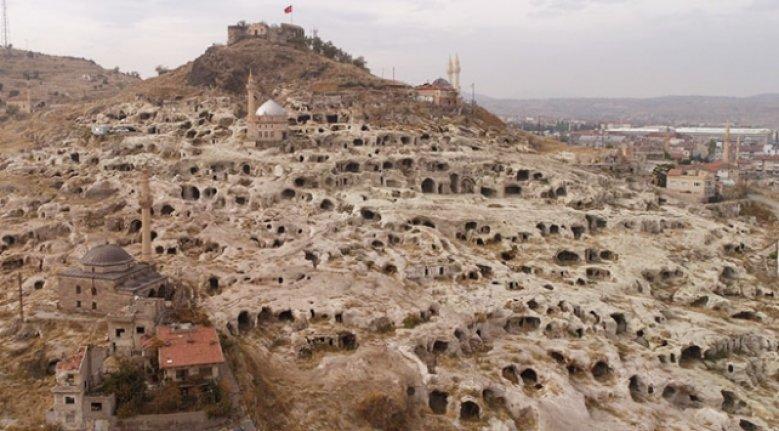 Kapadokya'da tesadüfen bulunan tarihi yapı turizme kazandırılıyor