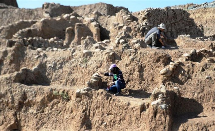 Mardin'de 11 bin 800 yıllık yerleşim yeri bulundu