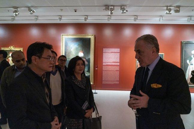Pera Müzesi, Tayland Başbakan Yardımcısı'na ilham kaynağı oldu