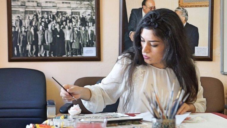 Sanatçı Jafari, Türk mitoloji ve efsanelerini minyatürle anlatıyor