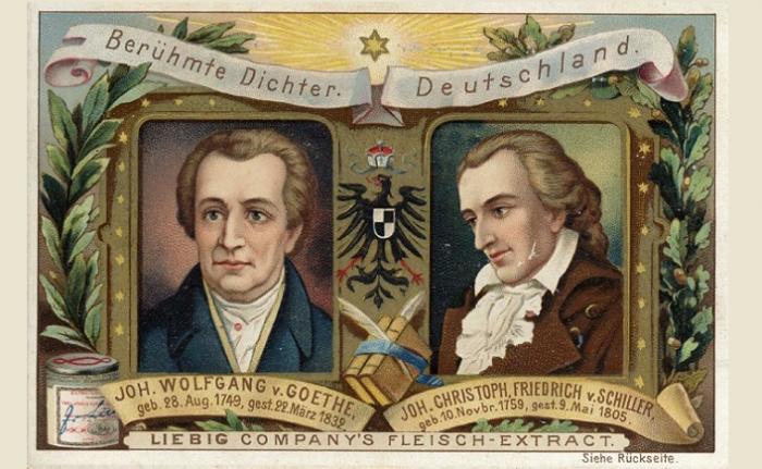 Şiirlerinin aynasında Goethe ve Schiller