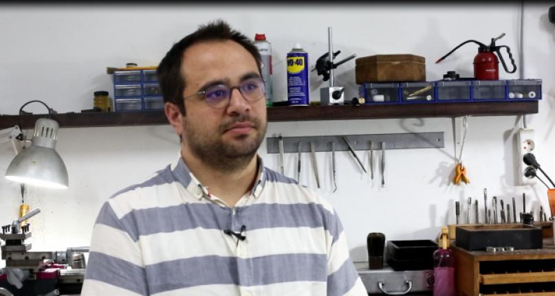 Türkiye'nin tek el yapımı dolma kalem üreticisi