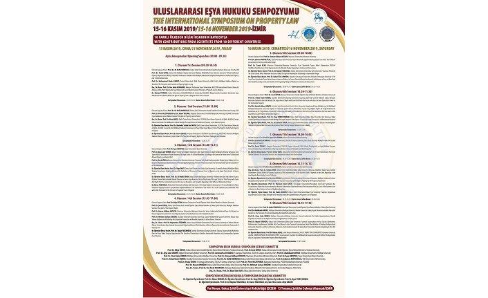Uluslararası Eşya Hukuku Sempozyumu