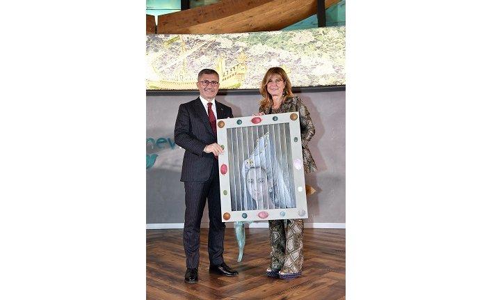 Ünlü İtalyan Sanatçı Lithian Ricci'nin eserleri Üsküdar Nevmekan Sahil'de