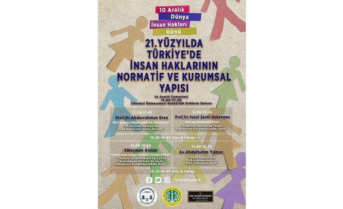 21. Yüzyılda Türkiye'de İnsan Haklarının Normatif ve Kurumsal Yapısı