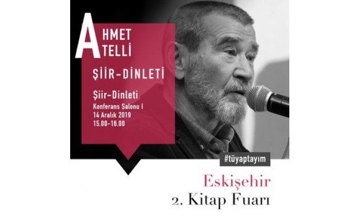 Ahmet Telli okurlarıyla buluşacak