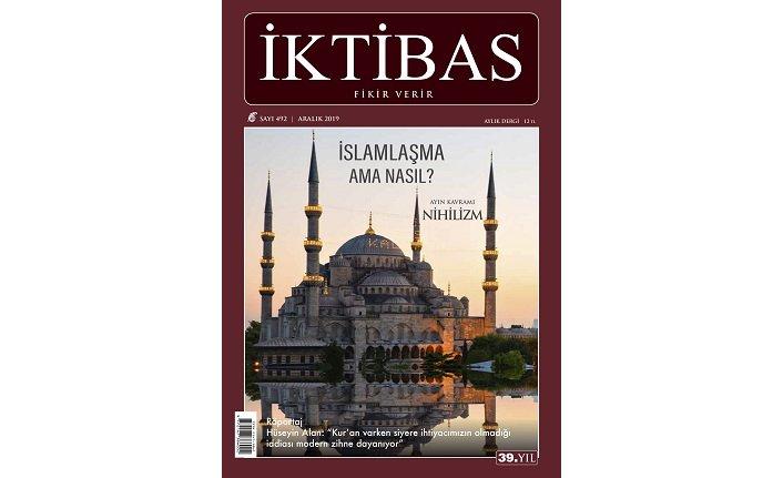 İktibas dergisinin Aralık sayısı çıktı
