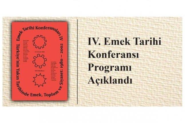 IV. Emek Tarihi Konferansı