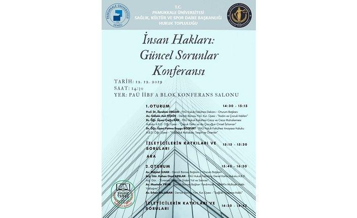 Konferans: İnsan Hakları - Güncel Sorunlar