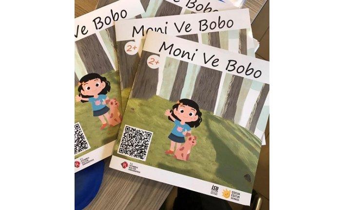 """""""Moni ve Bobo"""", hikayelerini """"işaret dili"""" ile anlatıyor"""