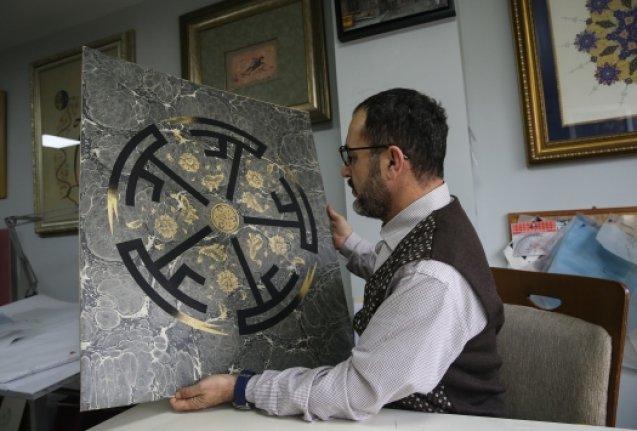 Muhammed Mağ, nefret söylemine hat sanatıyla cevap verdi