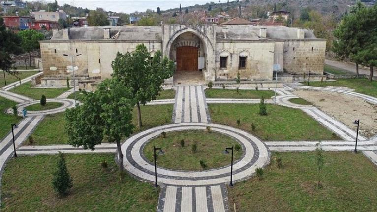 Osmanlı mirası Kurtkulağı Kervansarayı turizme kazandırılıyor