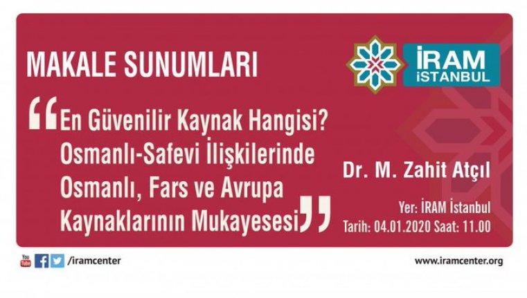 Osmanlı-Safevi İlişkilerinde Osmanlı, Fars ve Avrupa Kaynaklarının Mukayasesi