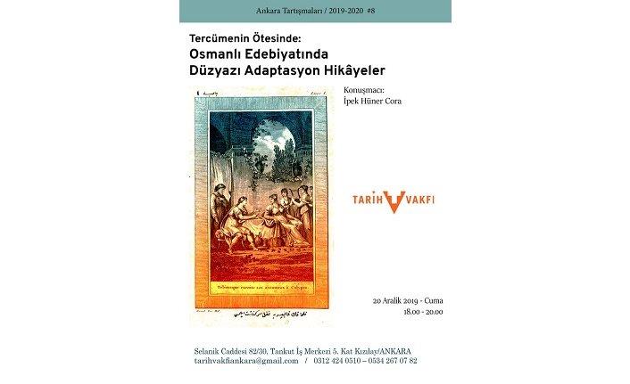 """""""Tercümenin Ötesinde: Osmanlı Edebiyatında Düzyazı Adaptasyon Hikâyeler"""""""