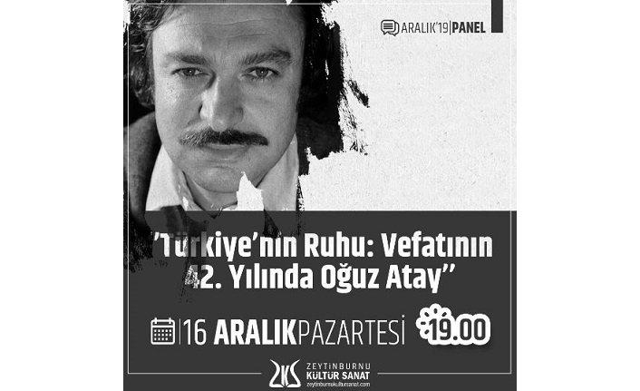 """""""Türkiye'nin Ruhu: Vefatının 42. Yılında Oğuz Atay"""""""