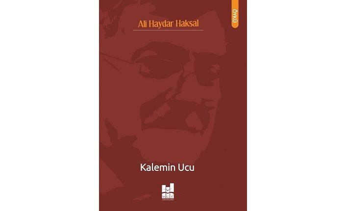 Yeni kitap: Kalemin Ucu