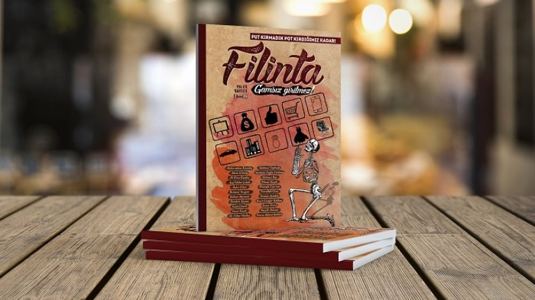 Elinde baltası olan dergi: Filinta