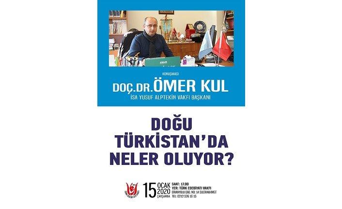 """Konferans: """"Doğu Türkistan'da neler oluyor?"""""""