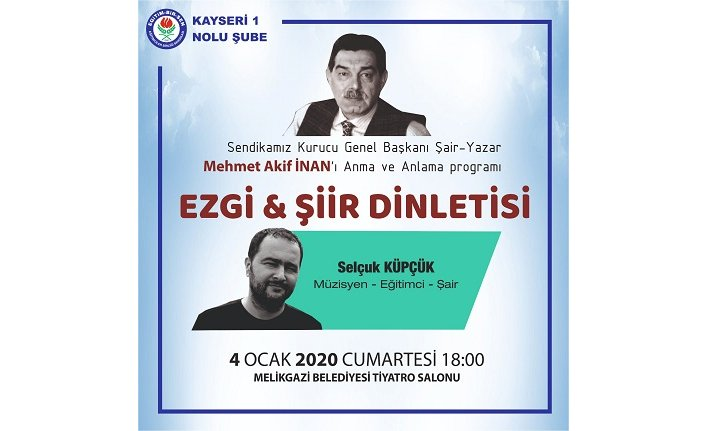 Mehmet Akif İnan'ı anma toplantısı