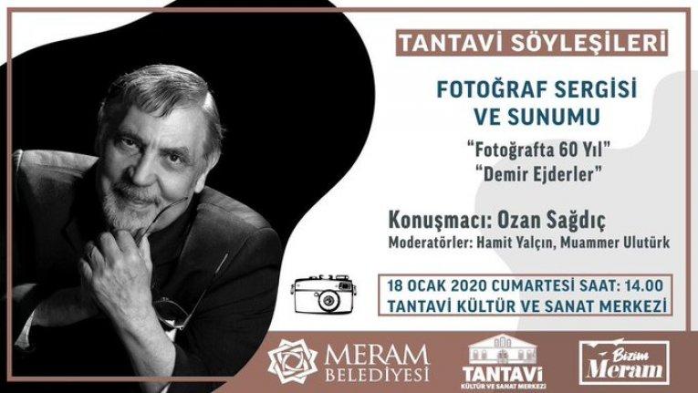 Ozan Sağdıç ile Fotoğraf Sergisi ve Sunumu
