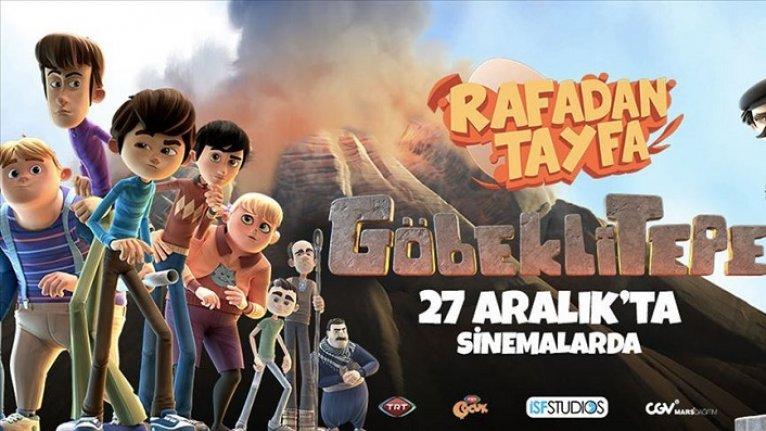 'Rafadan Tayfa Göbeklitepe' filmine rekor izleyici