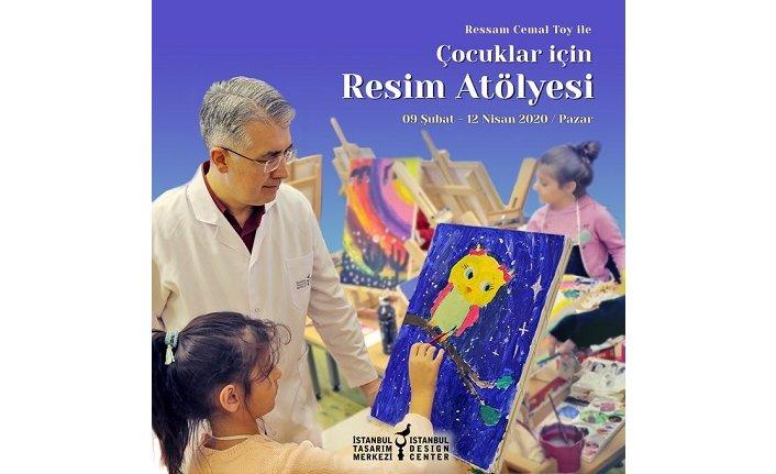 """""""Ressam Cemal Toy ile Çocuklar için Resim Atölyesi"""""""