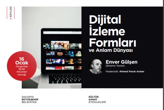 Söyleşi: Dijital İzleme Formları ve Anlam Dünyası