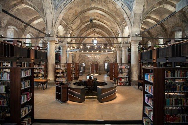 Tarihi Meryem Ana Kilisesi kütüphane oluyor