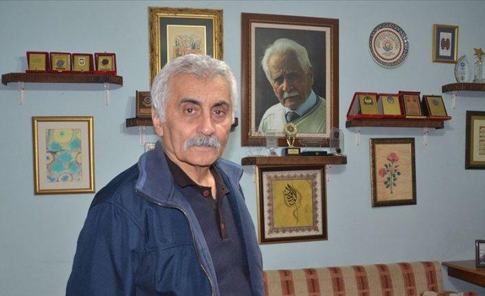 Türk edebiyatının 'Beyaz Kartal'ı Bahaettin Karakoç'u eserleriyle yaşatıyorlar