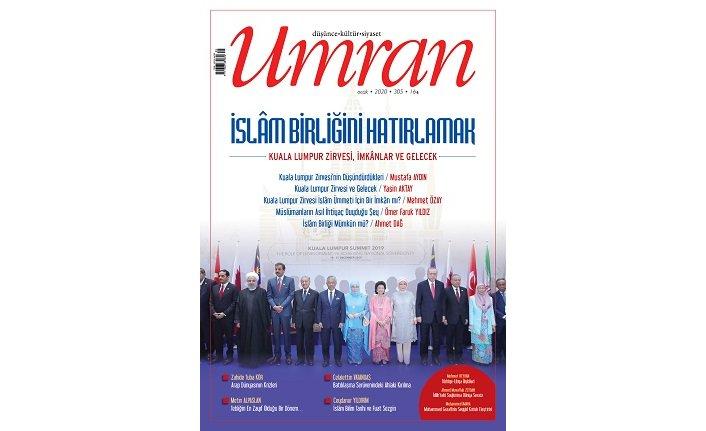 Umran dergisinin Ocak sayısı çıktı