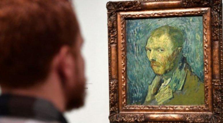 Vincent Van Gogh'un otoportresi sahte mi?