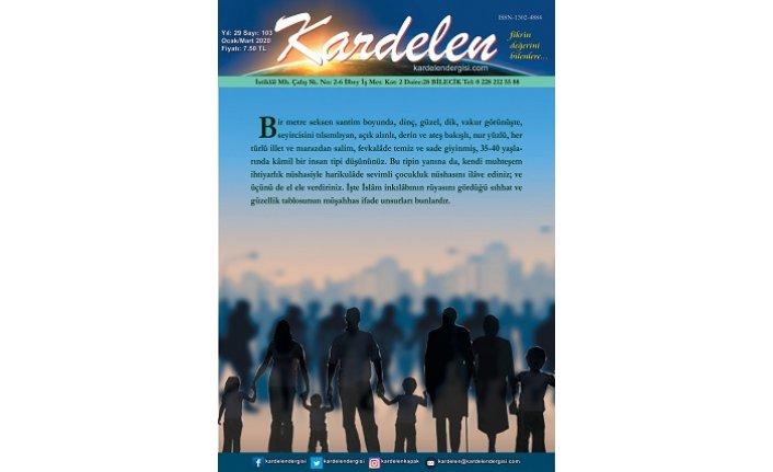 Kardelen Dergisi'nin yeni sayısı çıktı