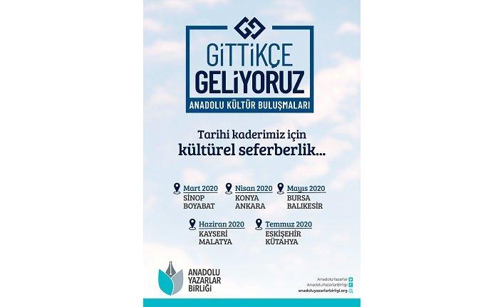 Anadolu Yazarlar Birliği'nden kültürel seferberlik